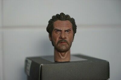 """1/6 custom ooak """"tuco"""" the good, the bad and the ugly head sculpt hot toys clint"""