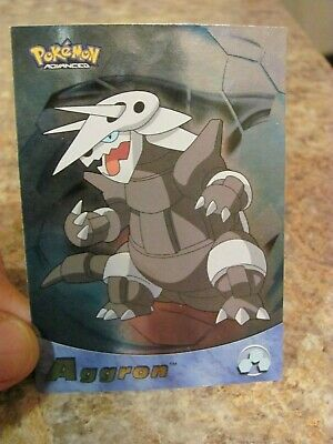 Topps Pokemon Advanced 2003 Aggron Foil # 10 Power Keepers Card