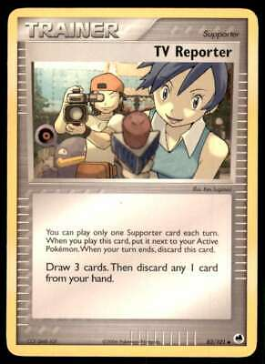 Pokemon EX Dragon Frontiers Tv Reporter #82/101
