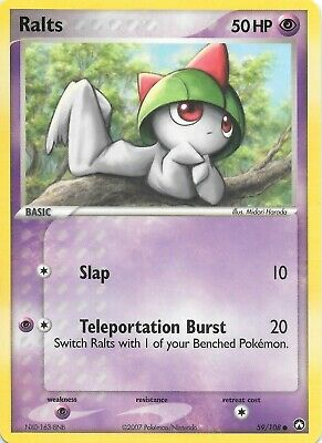 RALTS  59/108  EX POWER KEEPERS Pokemon Card  NM