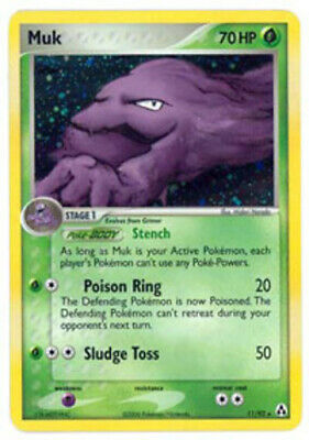 Muk - 11/92 - Holo Rare - EX Legend Maker - NM - Pokemon
