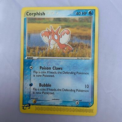 Corphish 52/97 Ex Dragon Set Pokemon Card