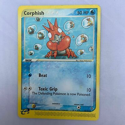 Corphish 54/97 Ex Dragon Set Pokemon Card