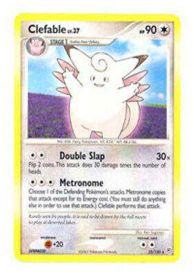 Clefable - 22/130 - Rare - Diamond and Pearl - NM - Pokemon