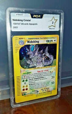 Carte Pokemon Pca 2 Nidoking Cristal 150/147 Wizards Serie Aquapolis 2003
