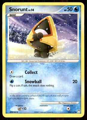 2007 Pokemon Dp Mysterious Treasures Snorunt C #100