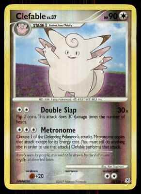 2007 Pokemon Diamond And Pearl Reverse Foil Clefable R #22