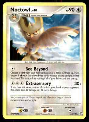 2007 Pokemon Diamond And Pearl Noctowl R #34