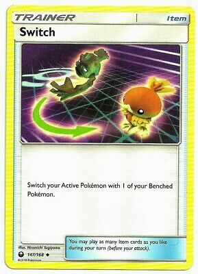 Switch  147/168 S&M: Celestial Storm  Uncommon  Mint/NM  Pokemon