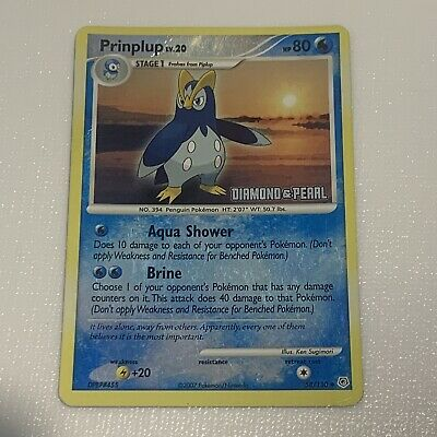 Prinplup - Diamond and Pearl 58/130 - Reverse Holo Pokemon Card