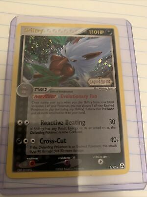 Holo Stamped Shiftry Ex Legend Maker 12/92 Pokemon Card
