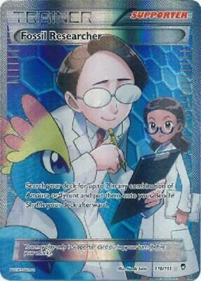 Pokemon Fossil Researcher Full Art 110/111 XY Furious Fists NM