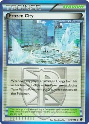 Frozen City - 100/116 Uncommon BW Plasma Freeze Pokemon Card
