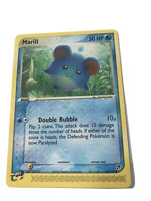 MARILL - 68/100 - EX Sandstorm - Reverse Non- Holo - Pokemon Card - NM