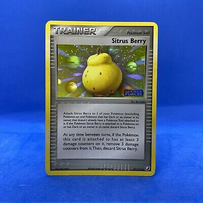 Sitrus Berry 91/115 Holo Pokemon Card Ex Unseen Forces Trainer Nintendo