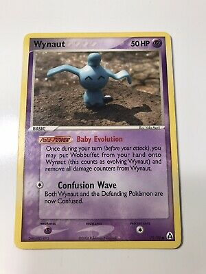 Wynaut 71/92 Non Holo / EX Legend Maker Pokemon Card  NM Condition