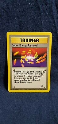 Pokemon Base Set 2 Super Energy Removal 108/130 in VLP condition