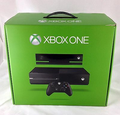 Microsoft Xbox One - 500gb W/ Kinect (exc) (original Contents) (free Shipping)!