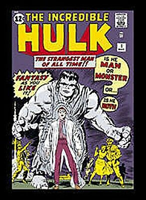 Hulk (cover) Steel Fridge Magnet (sd) Reduced To Clear==================