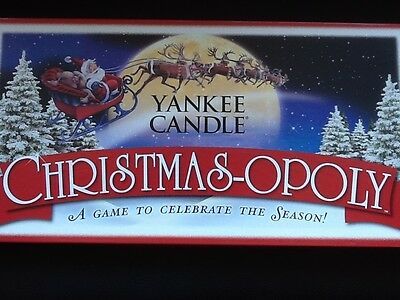 Yankee Candle Christmas-opoly Very Hard To Find