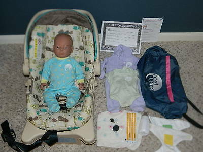 Reality Works Real Care Baby 3 Iii Caucasian Male Bundle Diapers Bottle Key