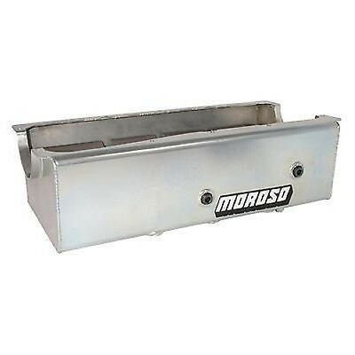 Moroso 20616 Oil Pan Steel Clear Zinc 9 Qt. For Ford 429/460