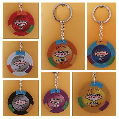 Your Choice Of Over 60 Poker Keychains And Lot