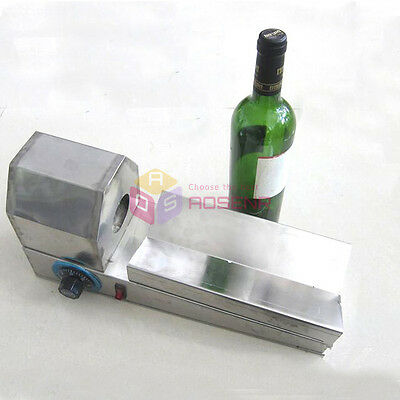 Thermal Plastic Film Wrapping Sleeves Shrinking Machine Wine Bottle Lids Capping