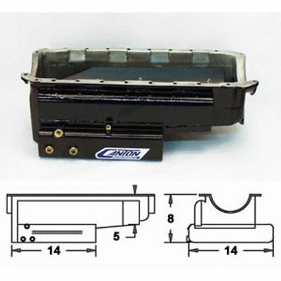 Canton 18-364 Marine Wet Sump Oil Pan For Big Block Chevy