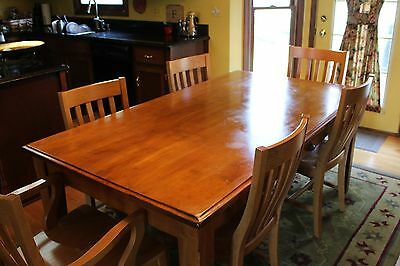 Pottery Barn Rectangular Dining Table Made In Italy 7 Pieces 6