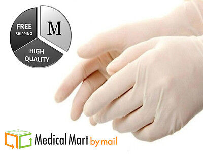 latex disposable powder free non medical gloves 4 mil (non vinyl) 72000  medium