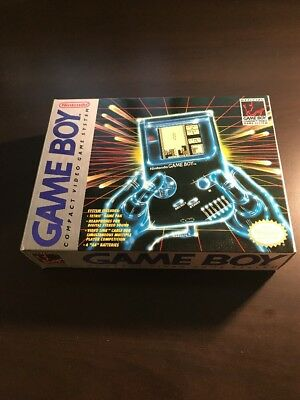 Gray Original Tetris Release Nintendo Game Boy Complete Cib Mint Survivor
