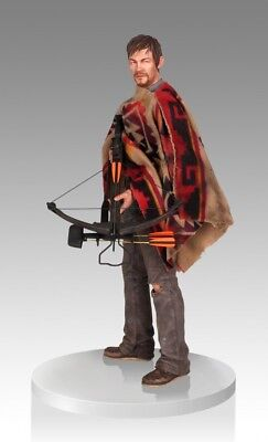 Amc The Walking Dead Daryl Dixon 1/4 Scale Statue~norman Reedus~gentle Giant~nib
