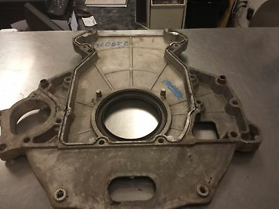 Used Ford 6.0 Powerstroke Engine To Auto Trans Backing Plate Casting # 1839614c1