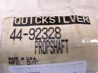 Mercury Prop Shaft Right Hand # 44-92328    New In The Oem Box