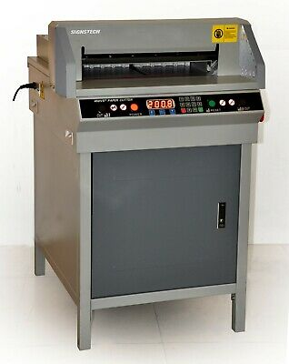"""Us Stock! 450mm Paper Guillotine Cutter Cutting Machine,17.7"""", 2-year Warranty"""