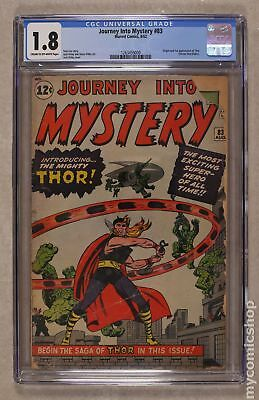 thor (1st series journey into mystery) #83 1962 cgc 1.8 1263459009