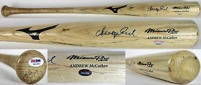 Pirates Andrew Mccutchen Signed Game Used Rookie Baseball Bat Psa Rookiegraph