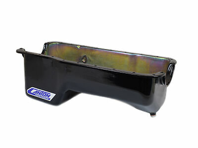 Canton 13-650blk Oil Pan Ford 351w Stock Appearing Pan W/ Baffle