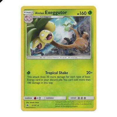 Alolan Exeggutor 2/131 Rare Cracked Ice Holo Pokemon Card (Forbidden Light)