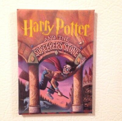 """Harry Potter And The Sorcerers Stone Fridge Magnet 2.5"""" X 3.5"""" Book Cover Gift"""