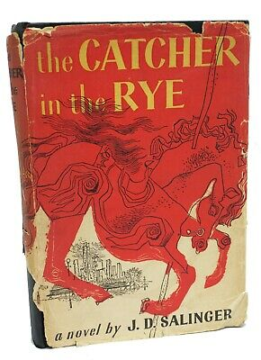 The Catcher In The Rye ~ J.d. Salinger ~ First Edition Sixth Printing ~