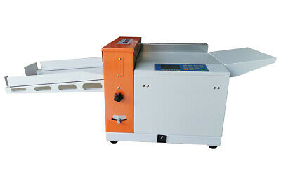 Us Stock! 330mm Electric Paper Creasing Scoring Machine With Line