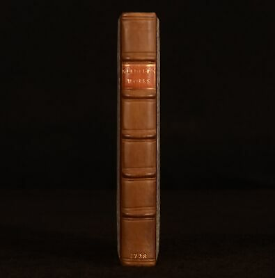 1728 The Works Of Henry Needler Cuncombe Second Edition Very Scarce Poems