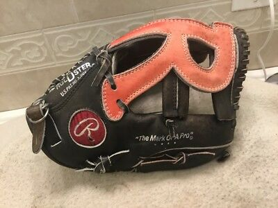 "Rawlings Sg 33 12"" Premium Series "" R "" Web Baseball Softball Glove Right Throw"
