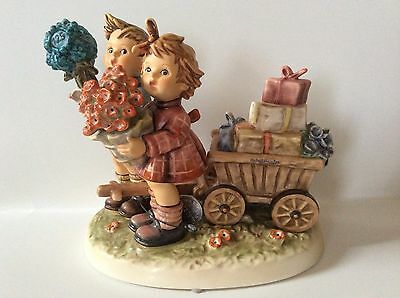 Extremely Rare Early Sample Hummel Figurine 751 2 Word Arbeitsmuste Tmk6