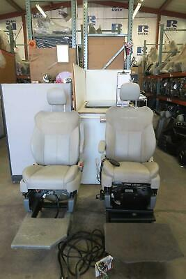 2008 Chrysler Town & Country Front Seat Set Leather Electric Oem Aftermarket