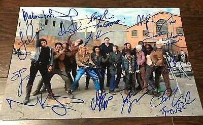 The Walking Dead Cast Signed Autographed 8x12 Photo Andrew Lincoln Norman Reedus