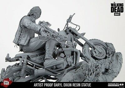 The Walking Dead Daryl Dixon Resin Statue Mcfarlane Artist Proof Limited To 50