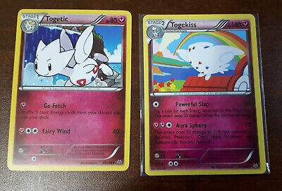 Togekiss 45/108, Togetic 44/108 Roaring Skies M/NM Pokemon